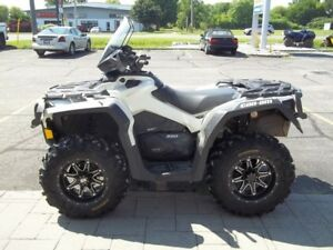 2016 Can-Am Outlander XT 850 Pearl White