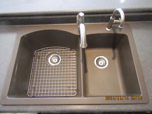 Kitchen sink and faucets