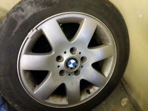 Bmw 325i oem rims and summer tires 205 55r/16