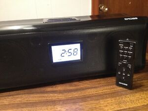 Koss Portable I dock /Clock Stereo Speaker