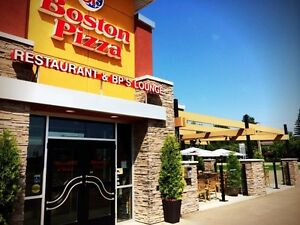 BOSTON PIZZA FRANCHISE FOR SALE - VERMILION, AB.