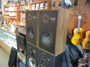 Set Of Vintage EPI 120C Speakers With Grills For Sale