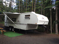 Camp Trailer rental services - Hassle Free Camping