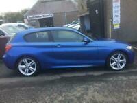 2012 BMW 1 Series 1.6 116I M SPORT 3d 135 BHP Hatchback Petrol Manual