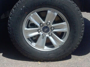 "17"" OEM Ford Wheels"