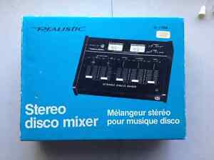 Realistic stereo mixer