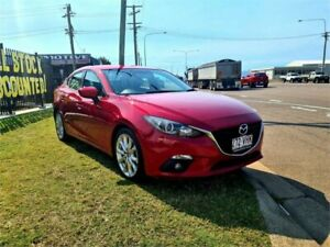 2014 Mazda 3 BM5238 SP25 SKYACTIV-Drive Red 6 Speed Sports Automatic Sedan Garbutt Townsville City Preview