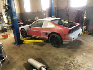 1986 fiero gt with 3800 supercharged manual swap