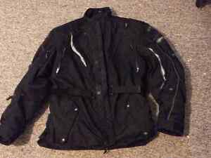 MEN'S TEKNIC MOTORCYCLE JACKET, SIZE 50