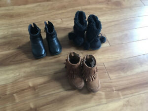 3 pair of boots for $10