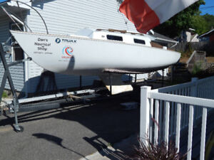 Shark 24 and trailer for sale