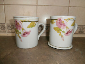 SET OF 2 TUSCANY COFFEE CUPS