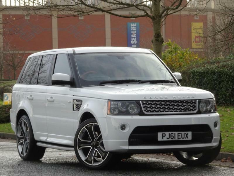 range rover sport 3 0 sd v6 2012 autobiography fuji white red black leather in urmston. Black Bedroom Furniture Sets. Home Design Ideas