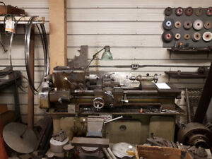 Gromatic 3' Metal Lathe + Accessories