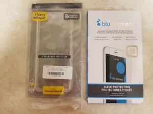 Otterbox Case and Screen protector - Samsung A8