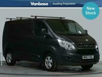 2017 Ford Transit Custom 2.0 TDCi 130ps Low Roof Limited Short Wheelbase L1H1 Lo