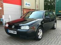 Volkswagen Golf 1.6 1595cc Automatic 2004MY SE