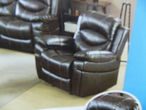 Rocker Recliners Fabric& Leather $495.00 TAX INCL> Call 727-5344