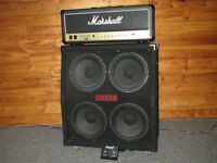 For Sale: Marshall JCM 900 50W Head with Crate 4X12 Cab