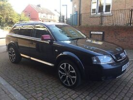 Audi A6 Allroad 2.5 TDI SE ALLROAD ESTATE AUTO 163BHP (black) 2005