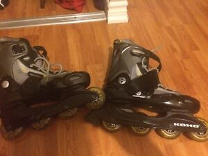 Almost New Koho Rollerblades Men's 10
