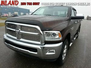 2015 Ram 3500 Laramie  Auto,Leather,Crew Cab,Rear Camera,Nav,Die