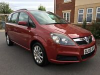 Vauxhall Zafira 1.6I 16V CLUB (red) 2006