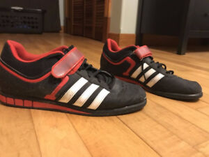 ADIDAS OLYMPIC WEIGHT LIFTING SHOES