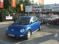 2002 VOLKSWAGEN BEETLE 1.8 TURBO ONLY 77,024 MILES FULL SERVICE HISTORY