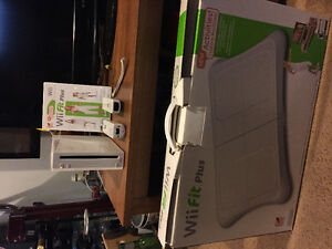 Wii and Wii fit