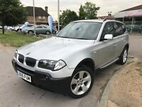 BMW X3 3.0i SPORT (silver) 2005