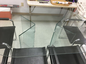 Glass Table w/ Six Chairs