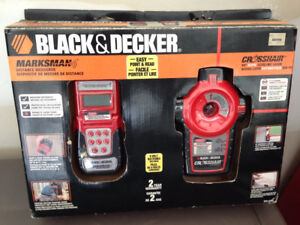 BLACK AND DECKER AUTO LEVELING LASER