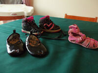 toddler size 4 sneakers and sandles