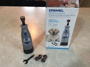 Dremel nail grooming kit for pets