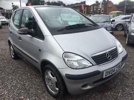 2004 MERCEDES BENZ A CLASS A140 Classic SE WELL MAINTAINED 12 MONTHS MOT