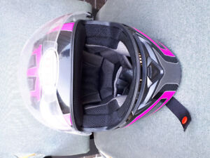 Women's  size small Bell motorcycle helmet