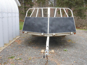 22ft. Sledbed snowmobile trailer