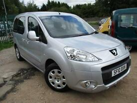 2010 PEUGEOT PARTNER TEPEE S HDI WHEELCHAIR ACCESS VEHICLE . MPV (MULTI-PURPOSE