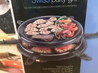 Swiss party grill BNIB
