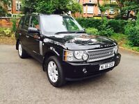 LAND ROVER RANGE ROVER 3.6 TD V8 VOGUE, AUTO, DIESEL, LEATHER