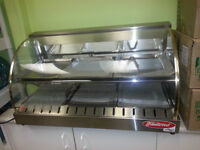 Hot food display case for sale
