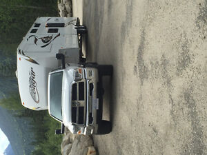 2010 Ram 3500 SLT Pickup Truck and fifth wheel