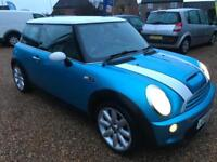 2003 Mini Cooper S 1.6 SUPERCHARGED Full Mot 01/2019 Low Miles 75.000 nice car