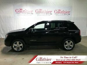 2014 Jeep Compass Limited 4X4 w/Sunroof  Leather *LOCAL*