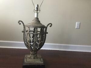 Vintage lamp - $30
