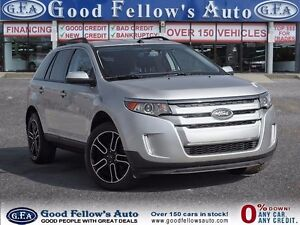 2013 Ford Edge SEL MODEL, LEATHER & CLOTH, BACKUP CAM, NAV