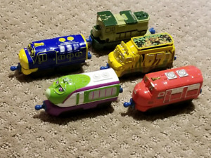 Lot of 5 Chuggington trains