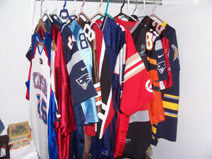 13 Sports Jerseys For $150  Various Sizes Various Sports