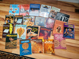 30 Wood carving books